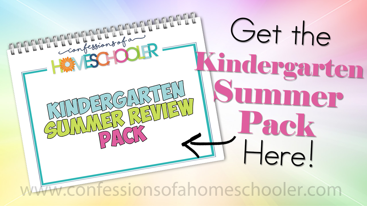 Kindergarten Summer Activity Pack