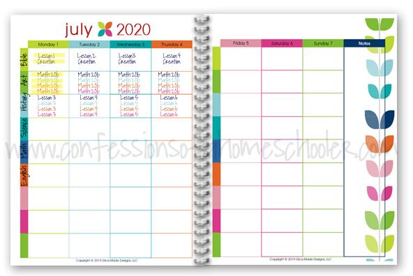 2020-20201 Lesson Planner