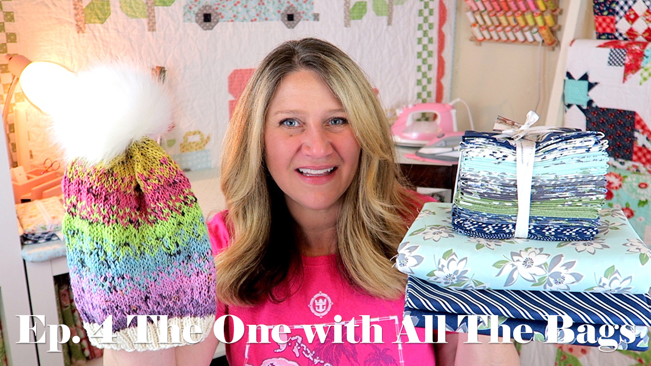 Erica's Craft Podcast Ep. 4 – The One with All the Bags