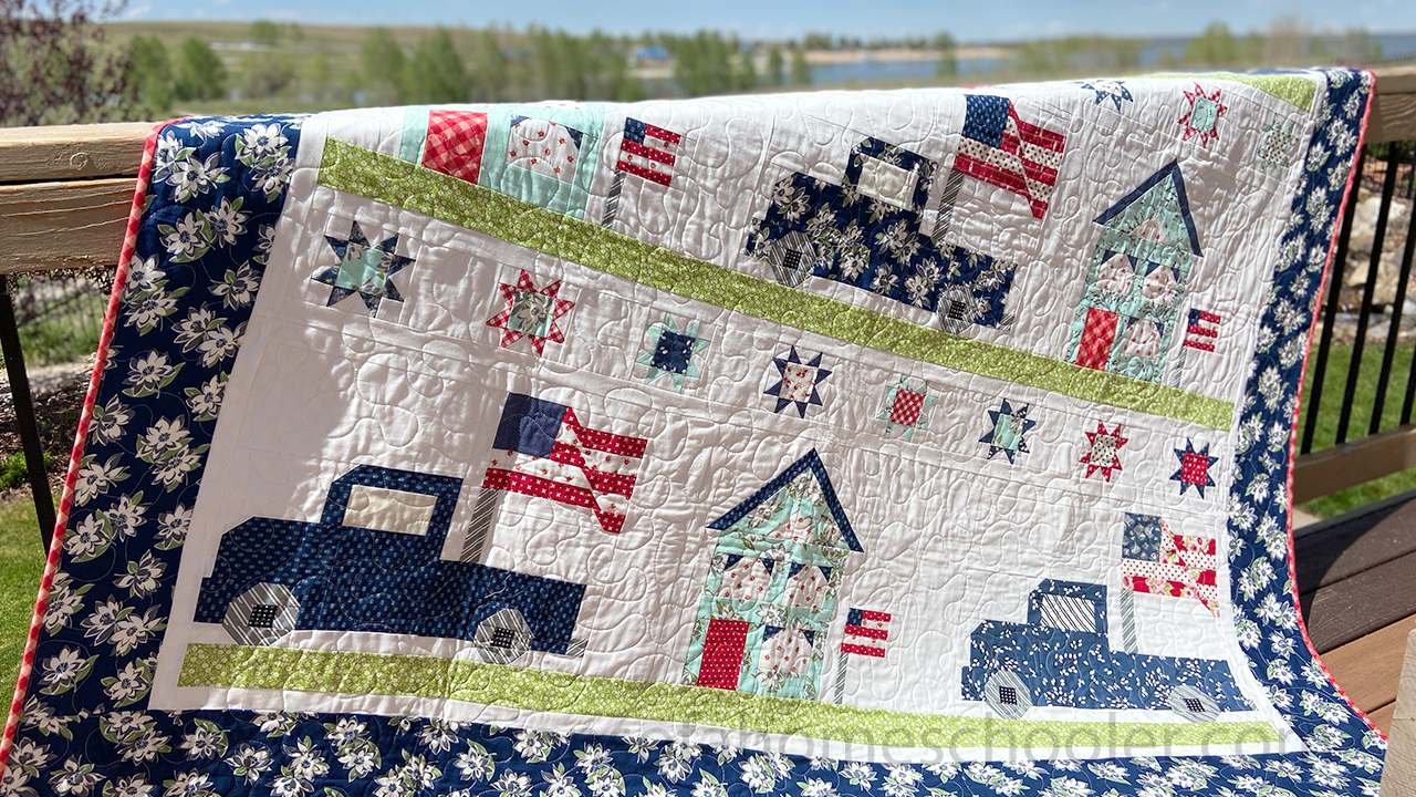 Vintage Glory Quilt Pattern