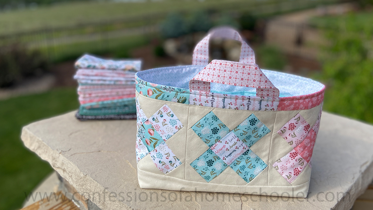 Erica's Scrap Fabric Bin // Tutorial