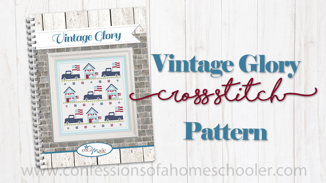 Vintage Glory Cross Stitch Pattern