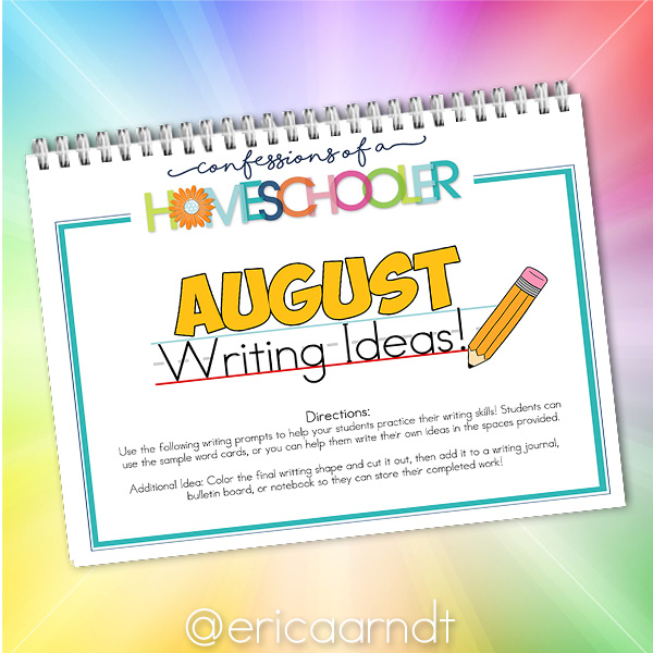 Ready to make writing fun? Download the August Themed Writing Prompt worksheets today!