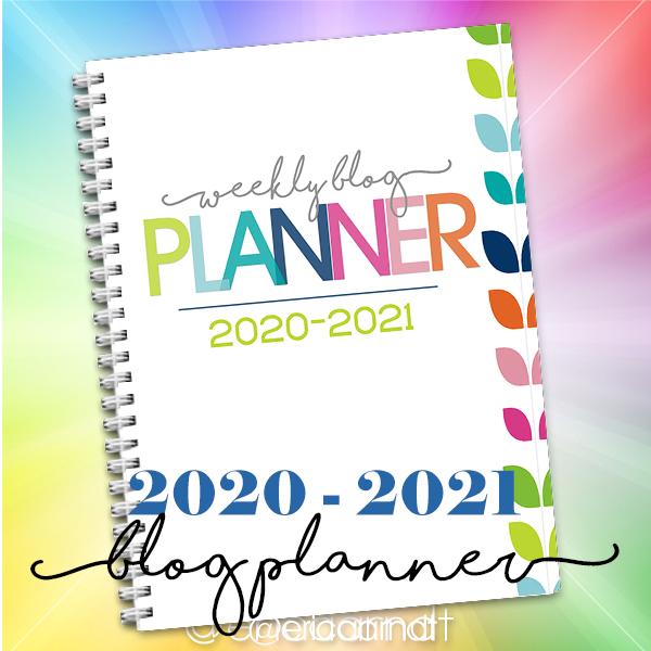 2020-21 Weekly Blog Planner