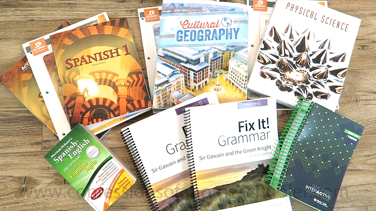 9th Grade Homeschool Curriculum Mid-Year Review