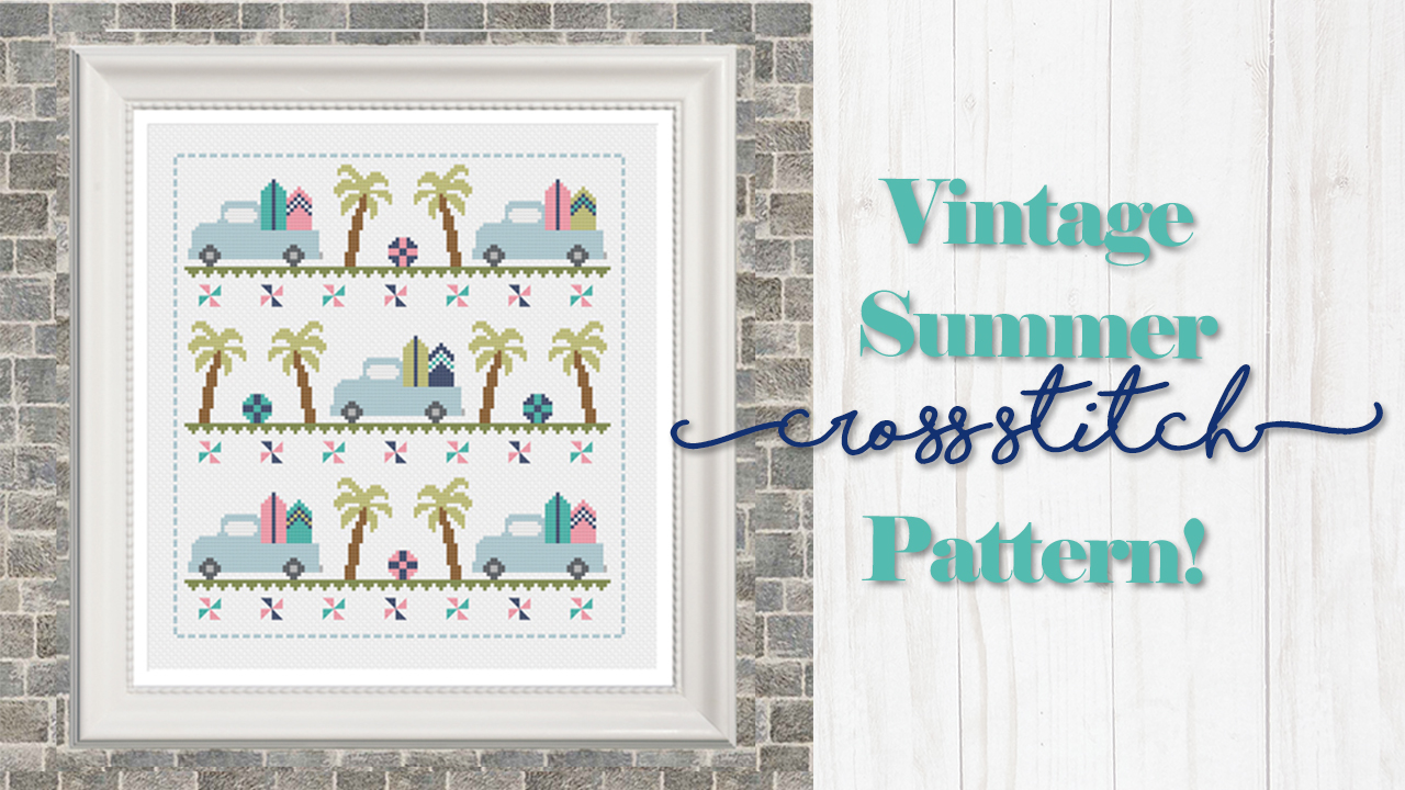 Vintage Summer Cross Stitch