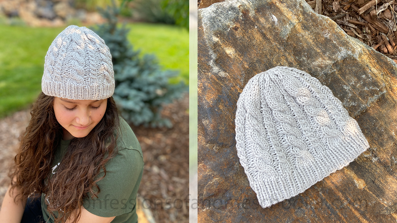 The Cumulus Beanie Knit Pattern