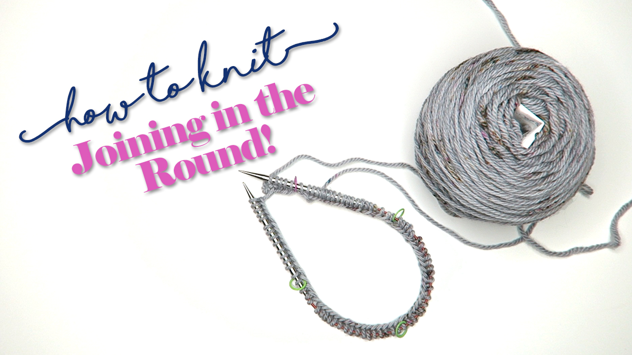 How to Knit: Joining in the Round