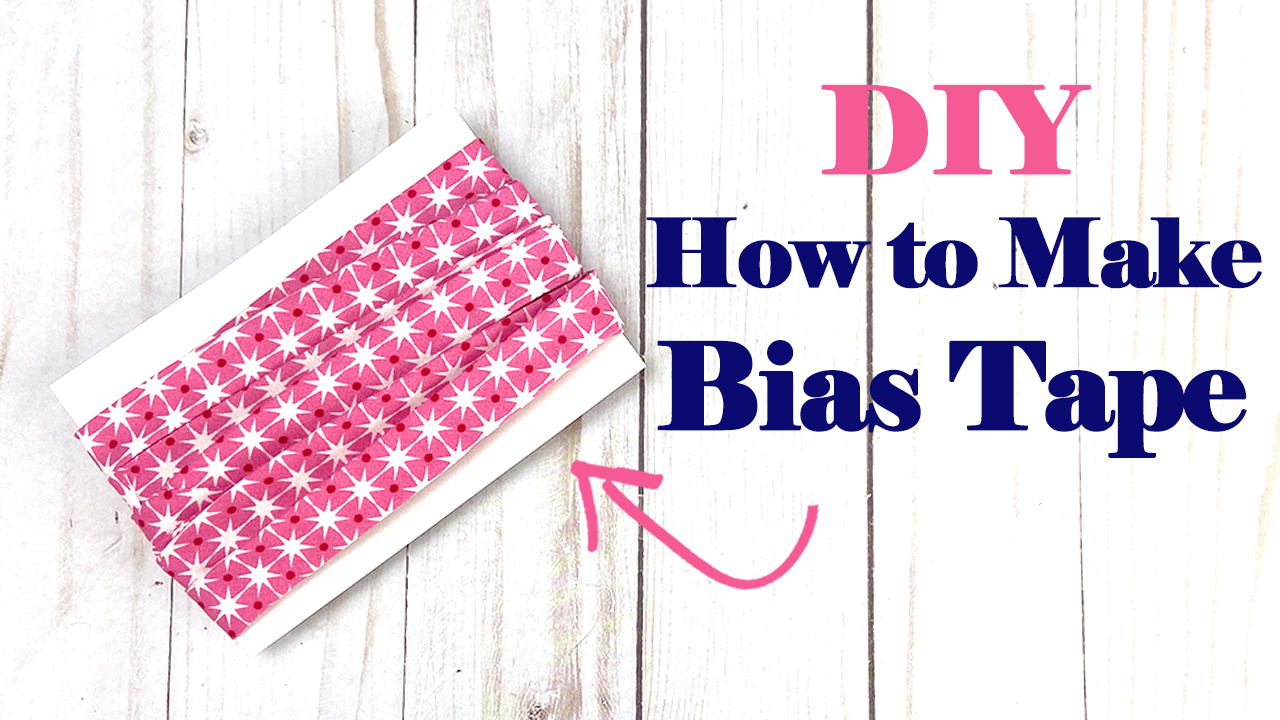 How to Make Bias Tape // Tutorial