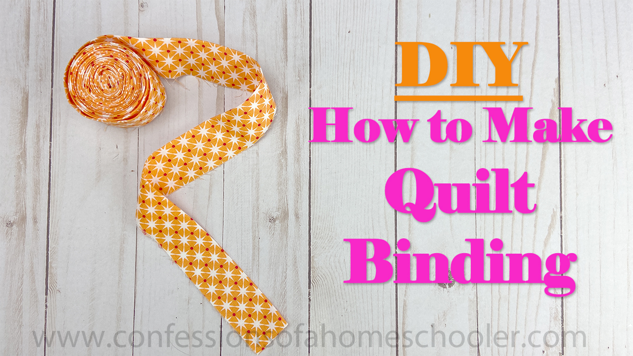 How to Make Quilt Binding // Tutorial