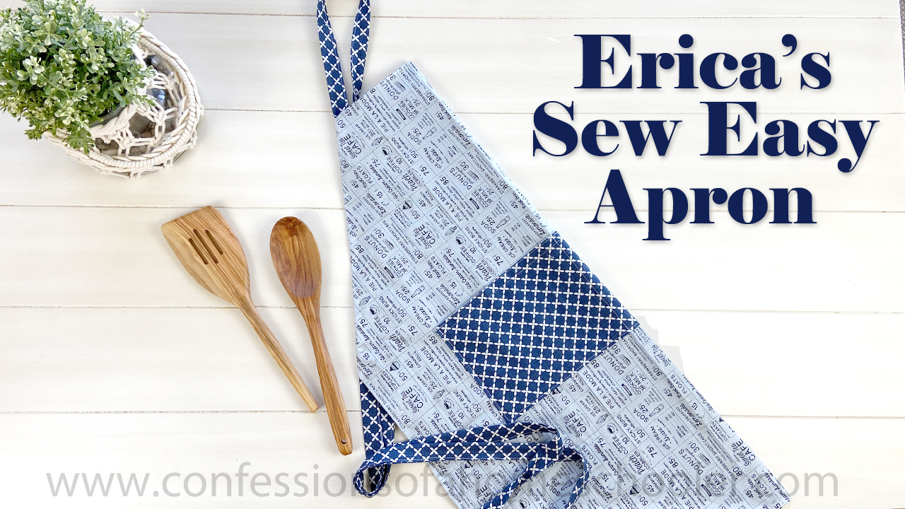 Erica's Sew Easy Adjustable Apron