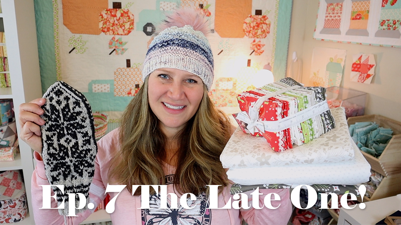 Erica's Craft Podcast Ep. 7 / The Late One