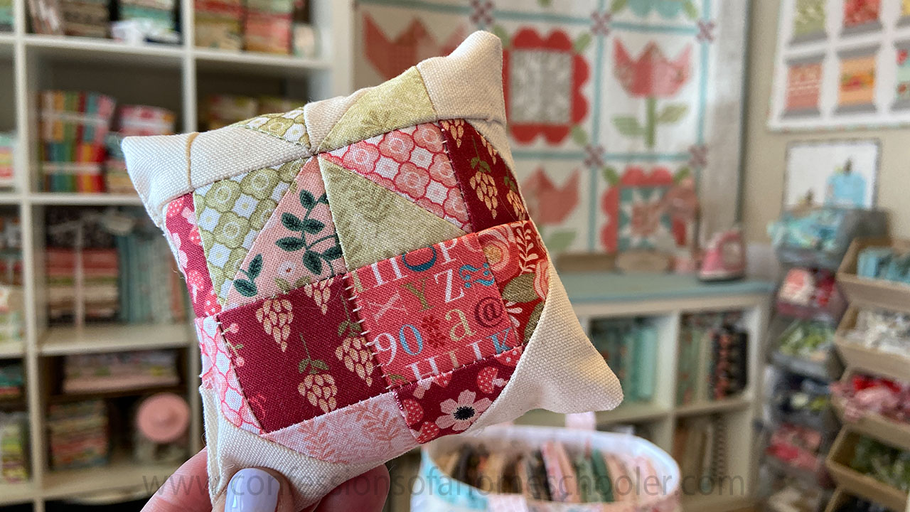 Easy Pin Cushion Pattern