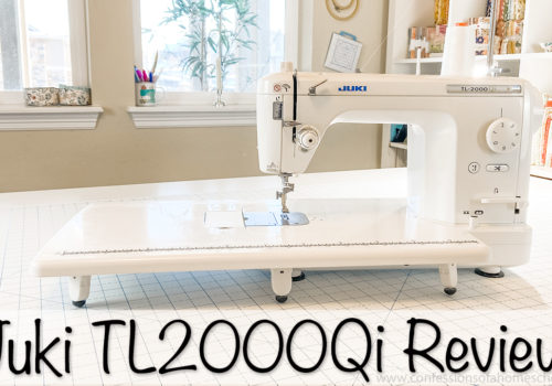 Juki TL2000Qi Sewing Machine Review