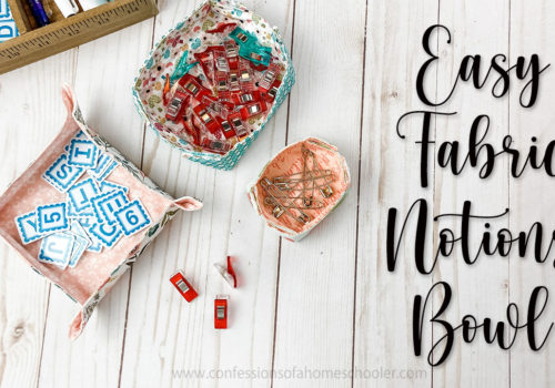How to Sew a Fabric Trinket Tray