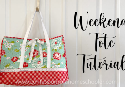How to Make a Quilted Weekend Tote Bag / Sewing Tutorial