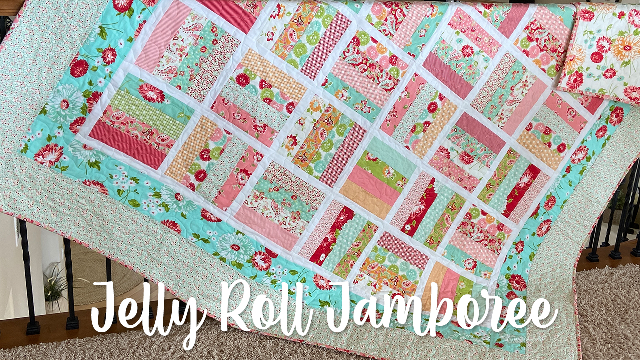 Jelly Roll Jamboree Quilt