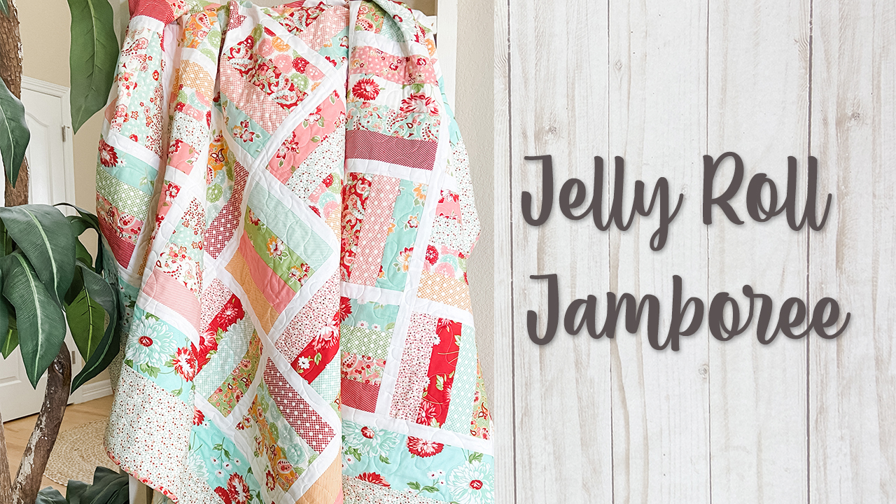 Jelly Roll Jamboree Quilt Pattern