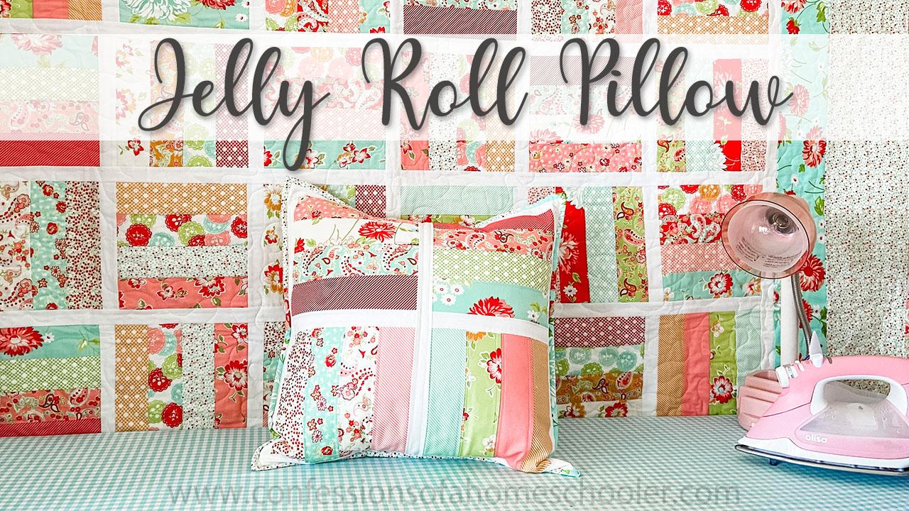 Jelly Roll Jamboree Pillow Pattern / TUTORIAL