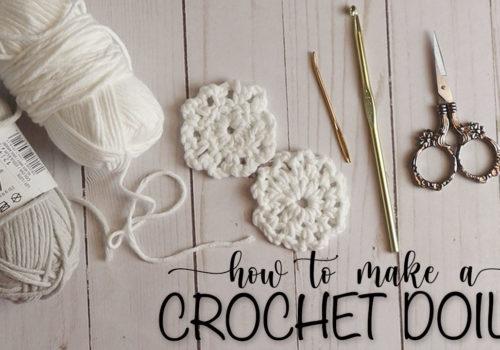 How to make a Crochet Doily / Tutorial