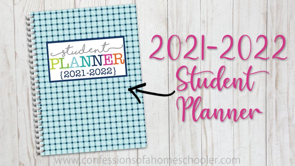 Homeschool Student Planner 2021