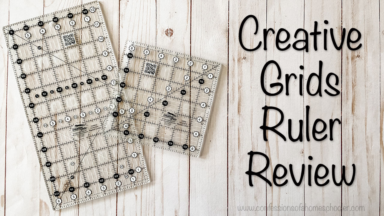 Creative Grids Ruler Review
