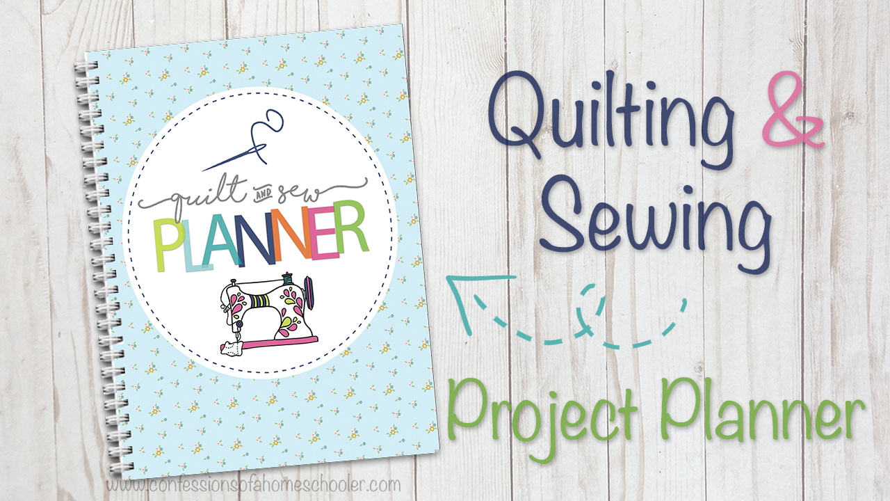 The Ultimate Sewing & Quilting Project Planner