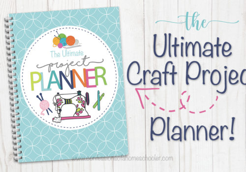 The Ultimate Craft Project Planner