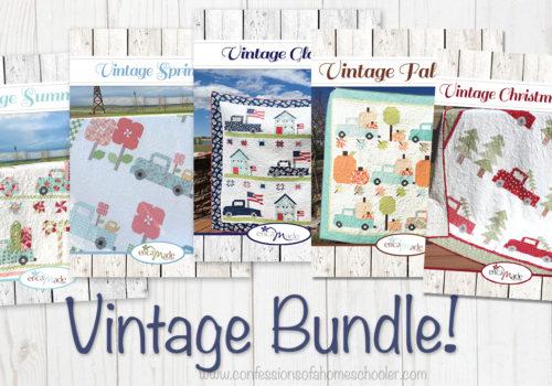 Vintage Quilt Pattern Bundle!