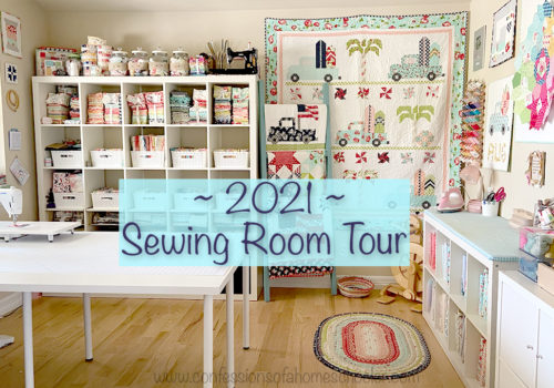 2021 Sewing Room Tour!