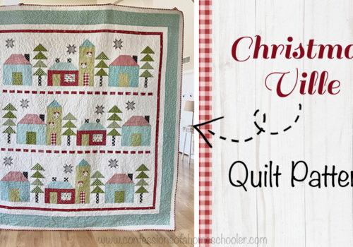 ChristmasVille Quilt Pattern!