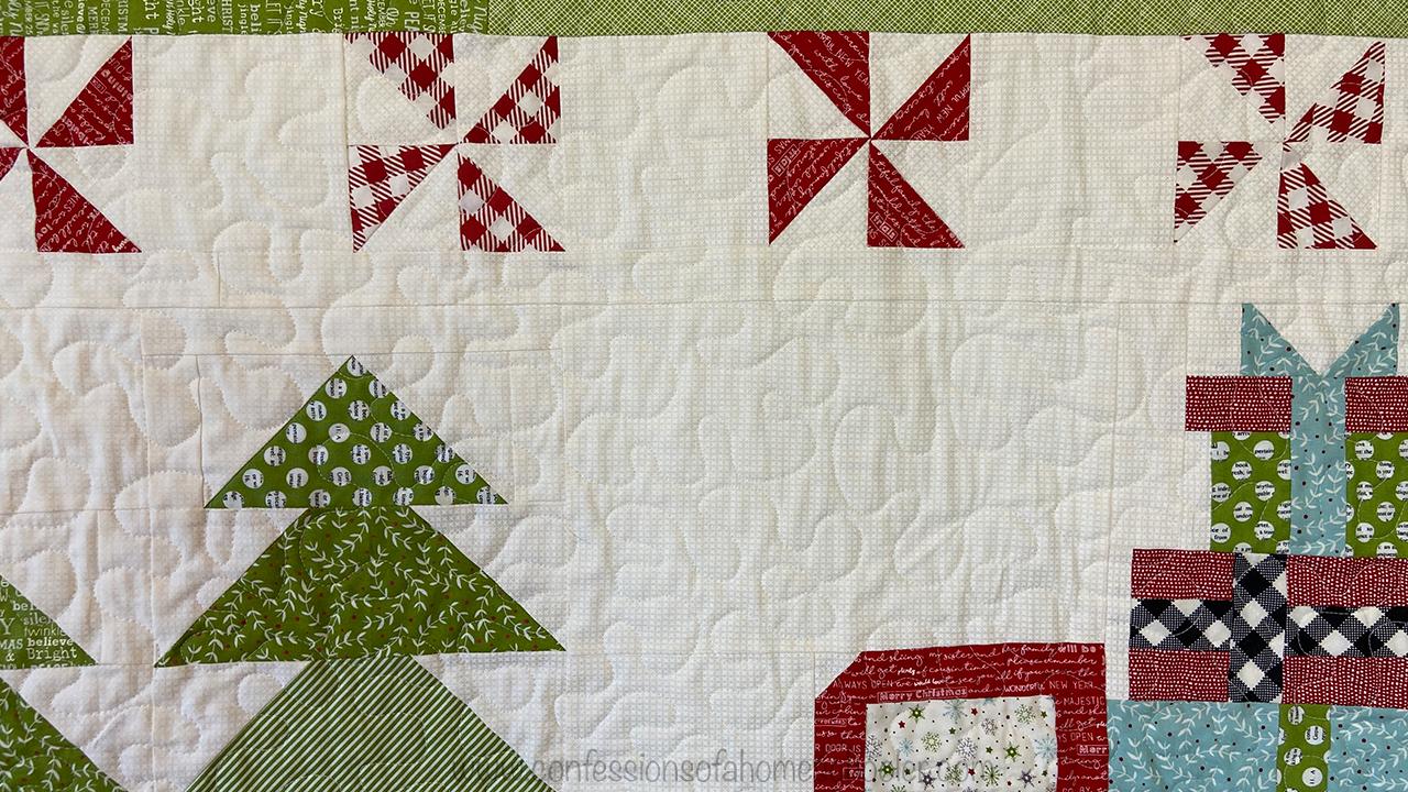 Vintage Chrismtas 2 Quilt Pattern