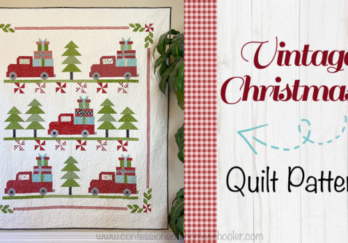 Vintage Christmas 2 Quilt Pattern