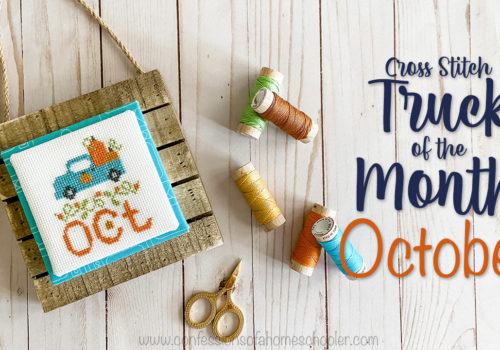 Vintage Cross Stitch Truck of the Month: October