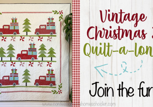 Vintage Christmas 2 Quilt-a-long